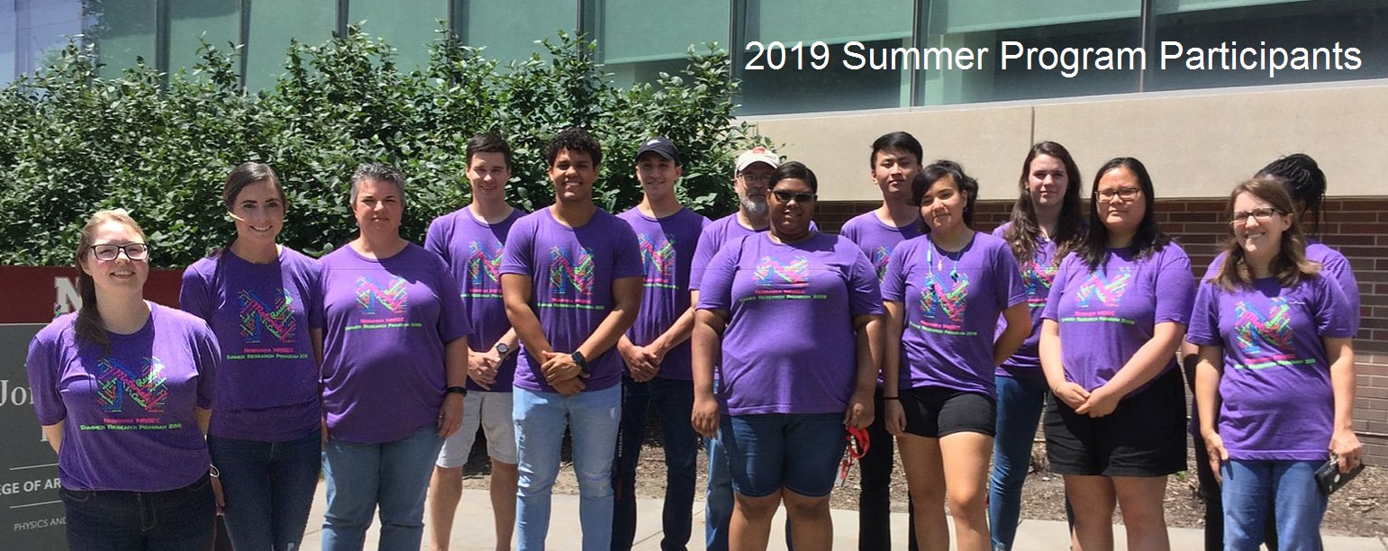 MRSEC summer group 2019