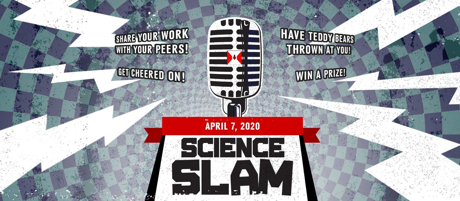2020 Science Slam web banner